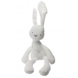 Plyšový králíček 49cm - bílý