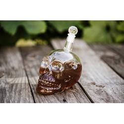 Láhev na alkohol - Lebka 650ml