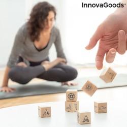 Hra s kostkami na jógu Anandice InnovaGoods 7 Kusů