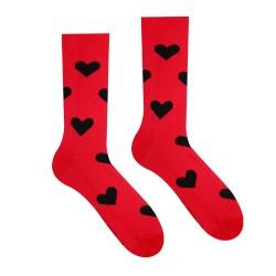Veselé ponožky HESTY - Valentýn ONA