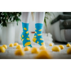Veselé ponožky HESTY - Citron