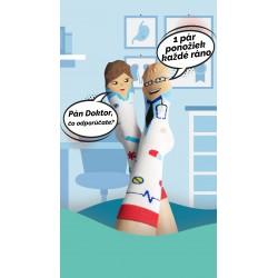 Veselé ponožky HESTY - Doktor a sestřička