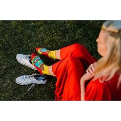 Veselé ponožky HESTY - Super Teddy
