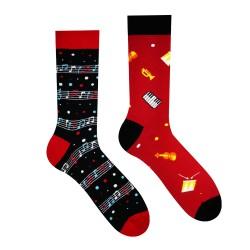 Veselé ponožky HESTY - Muzika