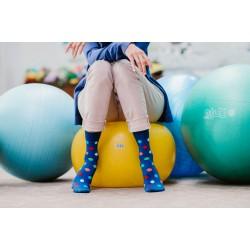 Veselé ponožky HESTY - Lentilky dlouhé