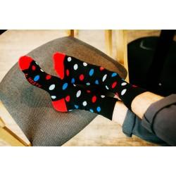 Veselé ponožky HESTY - Guľkáč dlouhý