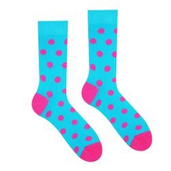 Veselé ponožky HESTY - Růžový panter