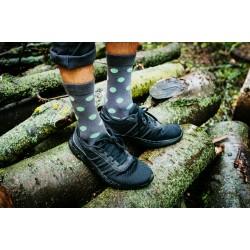 Veselé ponožky HESTY - Pastelka zelená
