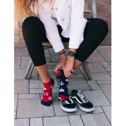 Veselé ponožky HESTY - jachtař kotníkové