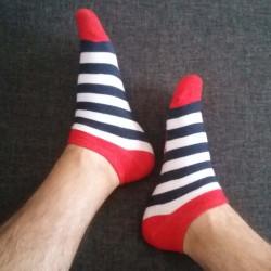 Veselé ponožky HESTY - Námořník krátký