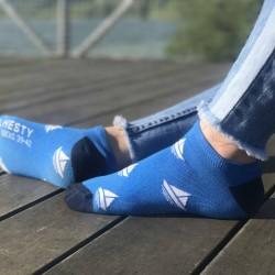 Veselé ponožky HESTY - Pravý kapitán kotníkové