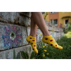 Veselé ponožky HESTY - Frutti kotnikové
