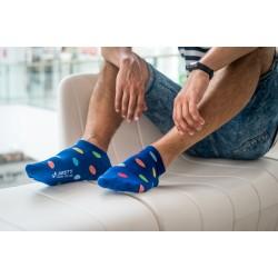 Veselé ponožky HESTY - Lentilky kotnikové