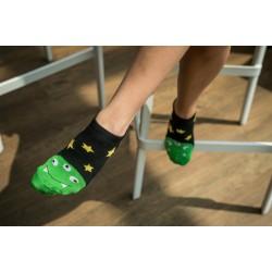 Veselé ponožky HESTY - Trojočko kotníkové