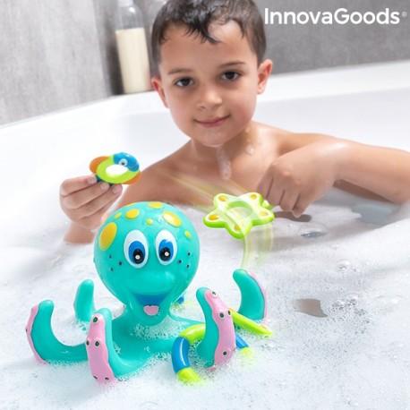 Plovoucí chobotnice s kroužky - Ringtopus InnovaGoods 6 Kusů