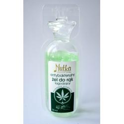 Nutka - Antibakteriálny gél - konopný 30ml