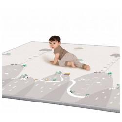 Dětská podložka s metrem Kopeček 200x180x1cm