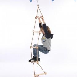 Dětský žebřík na lezení - 5 úrovňový