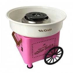 Vozík s výrobníkem na cukrovou vatu