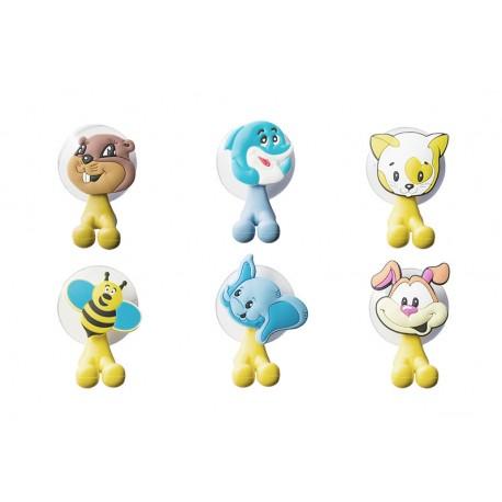 DR Vtipné držáky na zubní kartáček Zvířátka 6 různých modelů