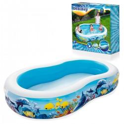 54118 Dětský bazén 262x157x46cm Bestway