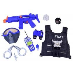 Kostým - Policejní sada (vesta + příslušenství)