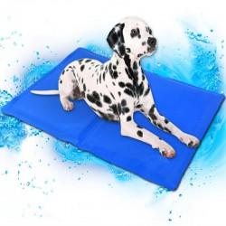 Chladící podložka pro psa - modrá (50x90cm)