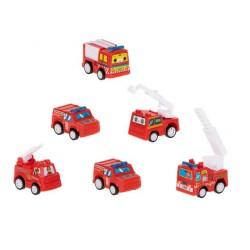 Sada hasičských aut (6 ks)