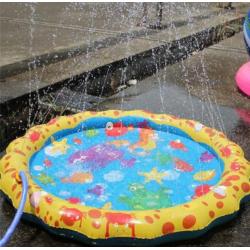 Kulatý bazének s fontánou pro děti - 100 cm