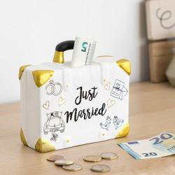 Pokladnička kufr Just Married