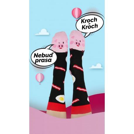 Veselé ponožky HESTY - Prasátko