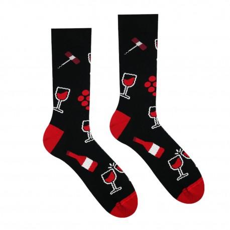 Veselé ponožky HESTY - Vínopič