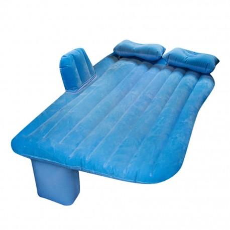 7579_2 DR Nafukovací matrace do auta 130 x 80 cm Modrá
