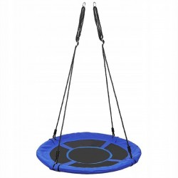 5642 Kruhová houpačka 100 cm modrá