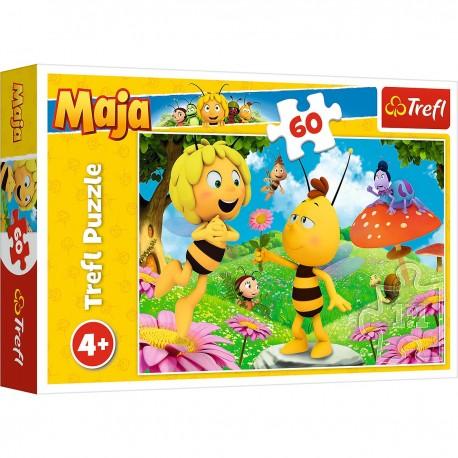 17330 TREFL Puzzle včelka Mája - 60 dílků