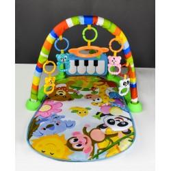 Dětská hrací deka 3v1 - POHÁDKOVÝ SVĚT
