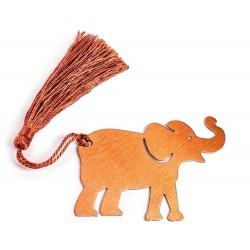 Záložka do knih - šťastný slon
