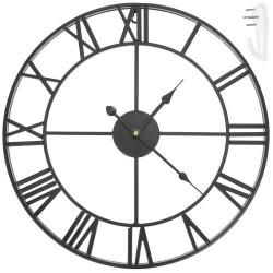 Retro hodiny 47,5 cm - černý