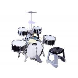 Detské bubny s mikrofónom, klávesnicou a osvetlením - Performer
