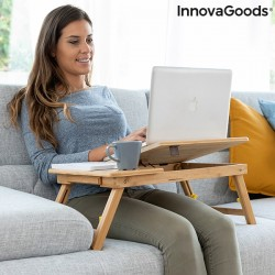 Bambusový stolek na notebook - INNOVAGOODS