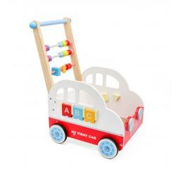 Dřevěný vozík - MY FIRST CAR