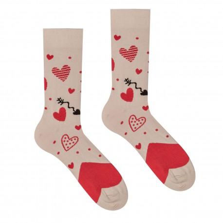 Veselé ponožky HESTY - Láska