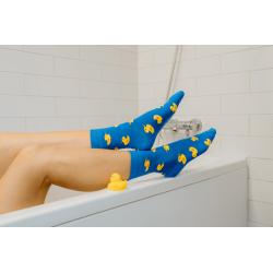 Veselé ponožky HESTY - Kačička Modrá