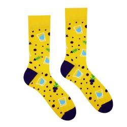 Veselé ponožky HESTY - Borovička