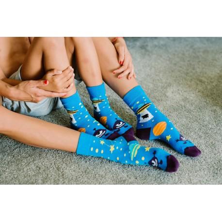 Veselé ponožky HESTY - Ufo
