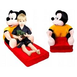 Dětská rozkládací pohovka – Mickey Mouse