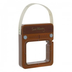 Pokladnička dřevěné rádio