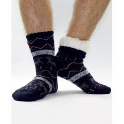 Termo pánské protiskluzové ponožky 16 Sobík tmavě-modrá