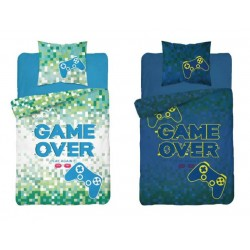 Bavlněné povlečení Game over