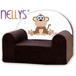 Nellys Dětské křesílko - Opička